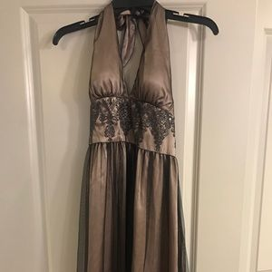 Halter Cocktail Dress- ABSOLUTELY GORGEOUS!!! Sz10